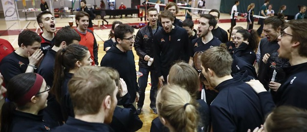 [Badminton universitaire] Le Rouge et or est champion canadien!