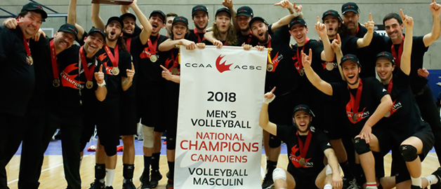 [Volleyball collégial masc. div.1] Les Titans sont champions canadiens
