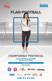 Championnat provincial scolaire invitation de flag-football