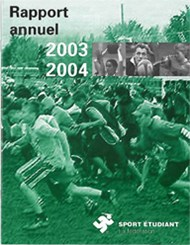 Rapport annuel 2003-2004
