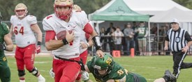 Football universitaire: Le Rouge et Or implacable à Sherbrooke