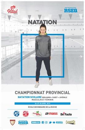 Championnat provincial scolaire invitation de natation
