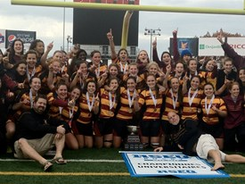 Stingers win fourth women's rugby title in six years